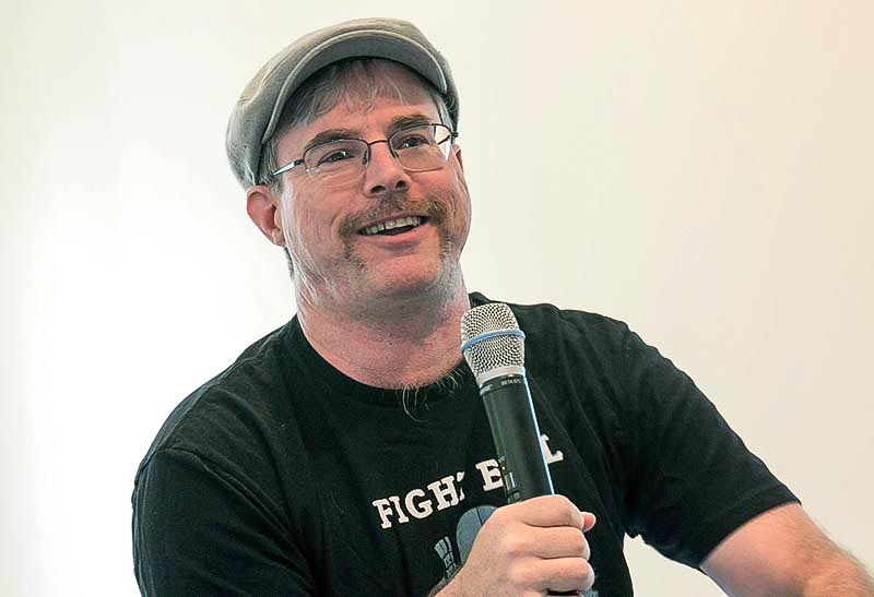 Andy Weir in Livermore